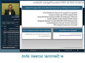 e-Seminar screenshot